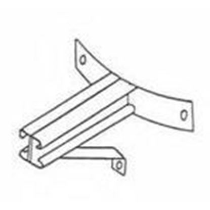 """Picture of Wilcor WA24SBS 24"""" Standoff w/ Support Bracket"""