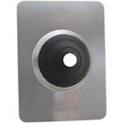 """Picture of Morris Products G11833 Roof Flashing, NC ½"""", ¾"""", 1"""" , 18"""" x 18"""" Soft Aluminum"""