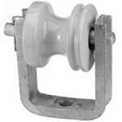 Picture of PPC Insulators 4113 Insulated Wireholder, Bolt-On Type