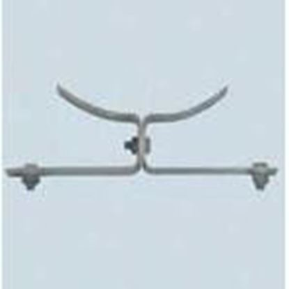 Picture of PPC Insulators 8610 Pole Mount Stand-Off Bracket
