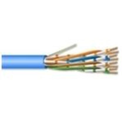 Picture of Coredata Labs U604PBLBXU 4 Pair 23 AWG CMP CAT6 - Blue - No Spline