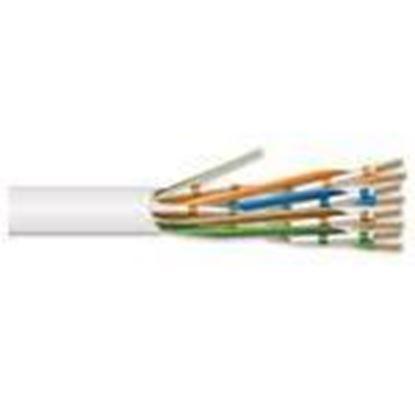 Picture of General Cable 7131801 Plenum, Category 6, 24 AWG - 4 Pair, White