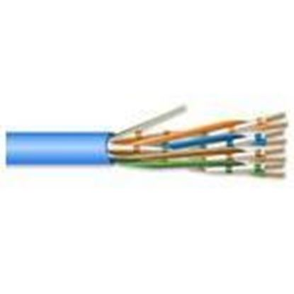 Picture of Coredata Labs U5E4PBLBXU 4 Pair 24 AWG CMP CAT5 - Blue