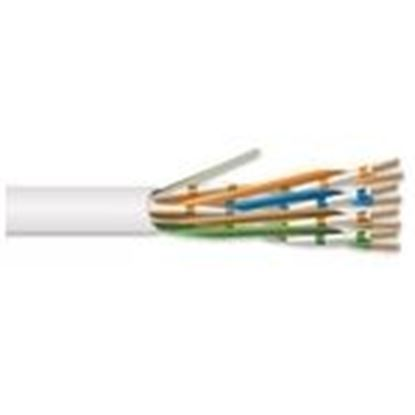 Picture of Hitachi Cable America 30222-8-WH3 4 Pair 22 AWG CMR CAT6A - White
