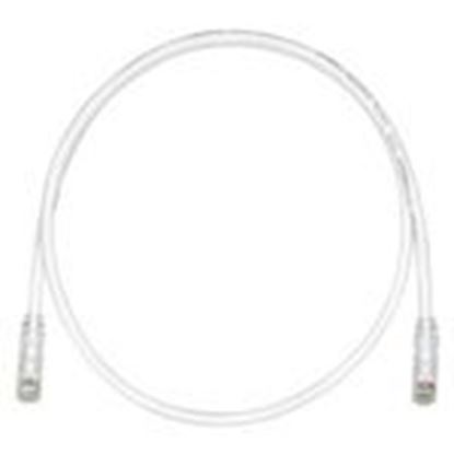Picture of Panduit 124/23 Non-Keyed Patch Cord, CAT6, UTP, RJ45, 24 AWG, Copper, Off White, 10'