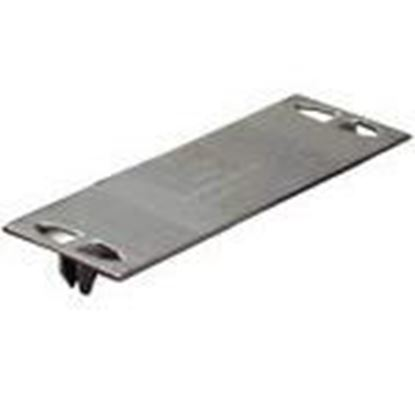 "Picture of Metal Products SP316100 3"" x 1-1/2"" Safety Plate"