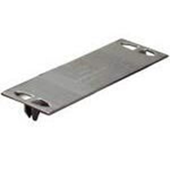 """Picture of Metal Products SP316100 3"""" x 1-1/2"""" Safety Plate"""
