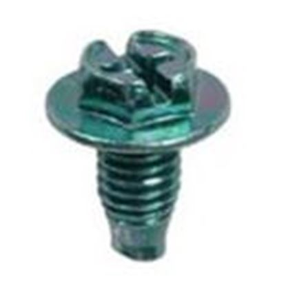 "Picture of Dottie 1032G 1/4"" Hex Slot Ground Screw"