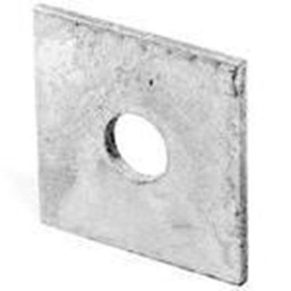 """Picture of PPC Insulators 6330 Square Washer, 5/8"""", Hot Dipped Galvanized"""