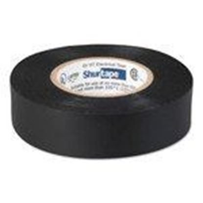 "Picture of Shurtape 104697 Professional Electrical Tape, Black, 3/4"" x 66', 8.5 mil"