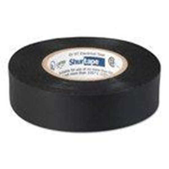 """Picture of Shurtape 104697 Professional Electrical Tape, Black, 3/4"""" x 66', 8.5 mil"""