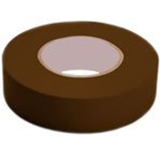 """Picture of Shurtape 104839 Color Coding Electrical Tape, Vinyl, Brown, 3/4"""" x 66'"""