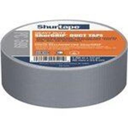 Picture of Shurtape 152305 Utility Duct Tape, 48mm x 54.8m, Silver, 9 mil