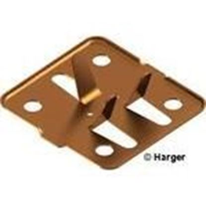 Picture of Harger Lightning & Grounding 262T Tin Adhesive Cable Holder