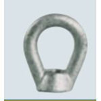 """Picture of PPC Insulators 1075 Eye Nut, 5/8"""", Hot Dipped Galvanized"""
